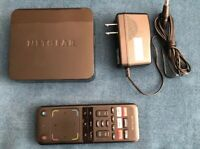 NETGEAR GTV 100 Streaming Player with remote