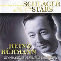 "HEINZ RÜHMANN ""Schlager & Stars"" 18 Tracks CD NEU & OVP Capitol EMI 2008"