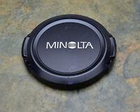 Genuine Minolta 72mm Front Lens Cap Snap-On  (#3284)