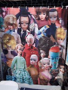 Sylvain Severine Fashion Doll Shower Curtain Julian Stanislaw Kalinowski