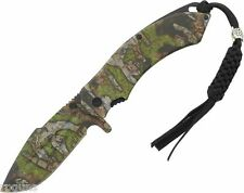 Turtleman Tactical Turtle II A/O Camo  Folding Knife TM036 5""