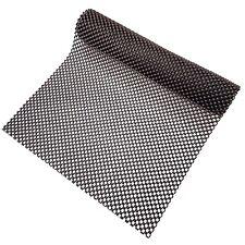 Black Anti Non Slip Multi Purpose Mat Rug Gripper 120 X 30cm Durable Grip Skid