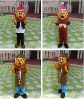 Advertising Lion Mascot Costume Cosplay Dress Adults Cospaly Outfits Halloween