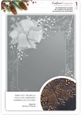 Crafters Companion 3d Embossing Folder 5x7 - Ring out The Bells Transparent