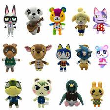 Animal Crossing Plush Toy Tom Nook Shizue Isabelle KK Slider Soft Stuffed Dolls