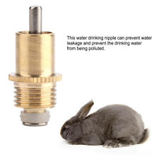 20 x Pet Dog Rabbit Water Feeder Nipple Drinker Small Mammal Drinking Yellow Hot