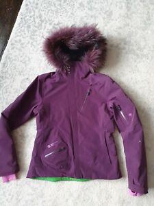 Ladies Mountain Force Ski Jacket Uk10 Gorgeous
