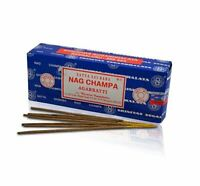 Nag Champa Incense Sticks 250 Grams Satya Baba Box Agarbatti Original 2019 Bulk