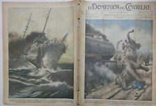 LA DOMENICA DEL CORRIERE 24 Luglio 1927 Amora pachidermi Cacciatorpediniere di e