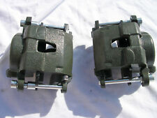 GM Chevy S10 S-10 Metric Loaded Front Disc Brake Calipers Pads street rod
