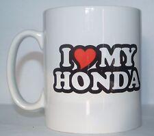 I LOVE/Cuore My Honda Novità Stampato Tè/Tazza Caffè Confezione Regalo Ideale/presenti