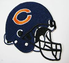 LOT OF (1) NFL CHICAGO BEARS FOOTBALL HELMET PATCH PATCHES (TYPE B) ITEM # 04