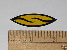 SMITH OPTICS GLASSES SMALL MTB BIKE FRAME STICKER DECAL -Yellow/Black