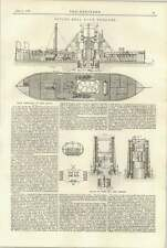 1897 Diving Bell Rock Draga Rin Marine Engine Bearings