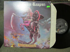 GRIM REAPER See You In Hell rca Mint LP '84 iron maiden
