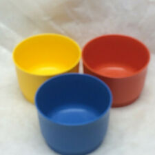 3 Tupperware Container Snack Cups