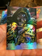 1995 MARVEL MASTERPIECES SERIES IV  FOIL HOLOFLASH 3 of 8 CARD INSERT CHASE SET