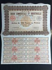 union commerciale et industrielle pour la mandchourie 1929