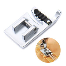 Electric Sewing Machine Stainless Steel 3-Needle Stiches Cording Presser Foot