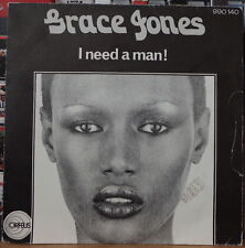 GRACE JONES I NEED A MAN ! FRENCH SP