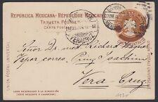 MEXICO, 1904. Post Card H&G 113,  M.C. - Veracruz