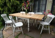 Farmhouse Up to 8 Unbranded Table & Chair Sets