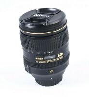 Nikon AFS Nikkor 24-120mm f4 G AF ED VR Lens - nano coated - 2 year warranty
