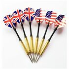 Professional Steel Tip Darts Set With Two Kind Nice Flag Pattern Needle Darts