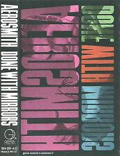 Aerosmith  Done With Mirrors CASSETTE ALBUM GEFFEN inc. Bonus Song