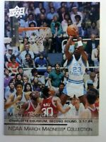 2014 14 Upper Deck NCAA March Madness Collection Michael Jordan #MJ-3, Insert