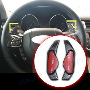 Paddle Shift Steering Wheel Gear Shifter Carbon Fiber For Land Rover Accessories