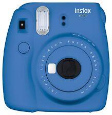 Fuji Instax Mini 9 Fujifilm Instant Film Camera Cobalt Blue  USA Model!