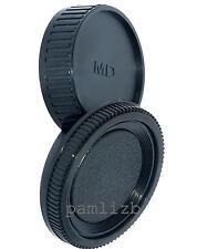 Minolta  MD fit  camera body & rear lens cap for manual focus 35mm SLR & lenses