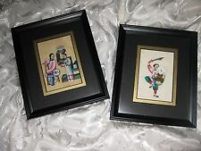 Vintage Original Asian Art Over 100 Years Old ~ Lot of three (3) offered here.