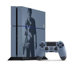 PS4 Uncharted 4 Edición - Pegatina Juego Funda