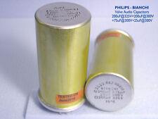 200+200+75+25uF - 300/325V Tube & Amplis guitare nos condensateurs électrolytiques