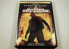 National Treasure DVD Nicolas Cage, Jon Voight, Harvey Keitel, Diane Kruger