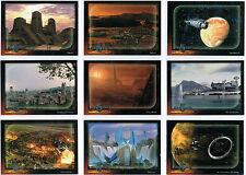 BABYLON 5 SPECIAL EDITION SET OF 9 WORLDS OF BABYLON 5