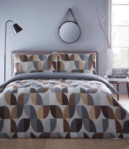 ABSTRACT retro geometric  Duvet Sets Single Double King Super King  multi colour