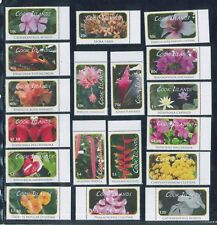 2010 Cook Islands Stamps #1305-1322 Mint Never Hinged Native Flowers Set of 18