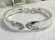 Tupperware Rose * 1955 * Wm Rogers * Silver Plated Flatware / Spoon Bracelet
