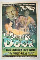Ultra Rare VTG Movie Poster 1951 Boris Karloff Horror Terror Universal 51/477 US