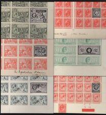 GB Royal Mail Edward VII & George V Silver Ingot stamp collection PUC £1, 10/-
