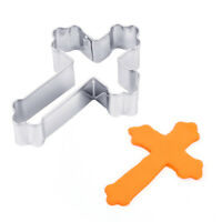 New Stainless Steel Halloween Cross Cookie Molds Cake Decor Fondant Cutter Tools