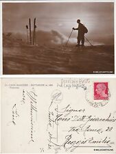 # MOTTARONE: TRAMONTO - annullo postale sul lago maggiore 1934