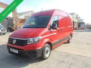 2018 67 VOLKSWAGEN CRAFTER PLUS PACK AIR CON  - FULLY FITTED MOBILE WORKSHOP  -