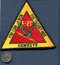 E-2C E-2 C Hawkeye You Can't Hide Us Navy Vaw Squadron Patch