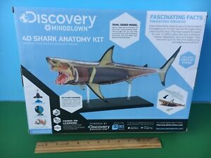 2019 Discovery 4D GREAT WHITE SHARK Anatomy Model KiT MIB JAWS