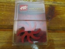 New PSE VIBRACHECK Archery Cable Rod Damper Red For Compound Bows Part 01097RD
