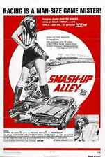 Smash Up Alley Poster 01 Metal Sign A4 12x8 Aluminium